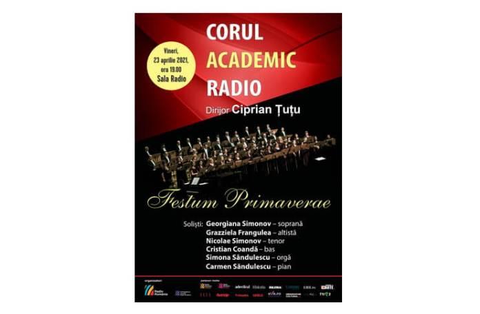 Afis Sala Radio 23 aprilie Corul Academic Radio