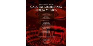 "Afis Gala Extraordinara ""Libera Musica"" - 14 mai ONB"
