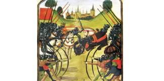 Bătălia de la Tewkesbury în Manuscrisul Ghent