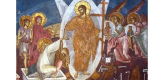 Înviere icoana