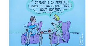 Caricatură de Dumitru Ștefănescu-ȘTEF