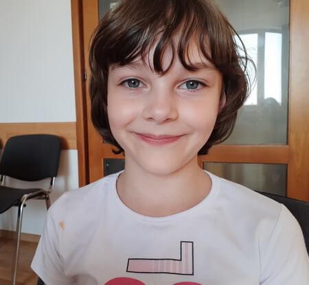 Anca Voinea, 8 ani