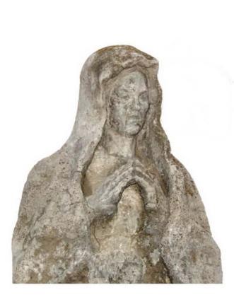Monument funerar, detaliu