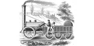 Locomotiva The Rocket, 1829