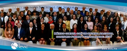 México cuenta con un sistema nacional sanitario fuerte y consolidado: JSyT