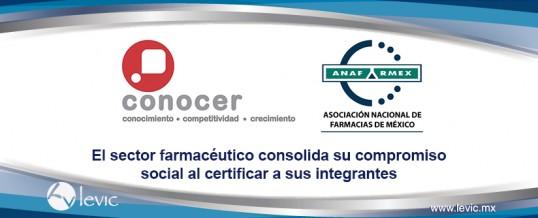El sector farmacéutico consolida su compromiso social al certificar a sus integrantes