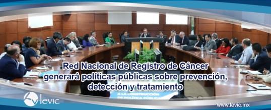 Se desarrolla Red Nacional de Registro de Cáncer que generará políticas públicas sobre prevención, detección y tratamiento