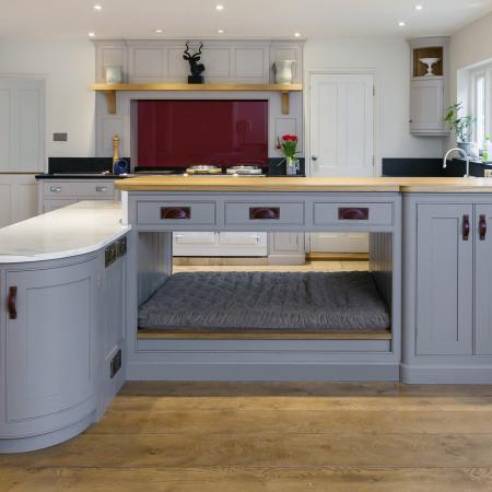 Colourful Country House Kitchen Levick Jorgensen Kitchens