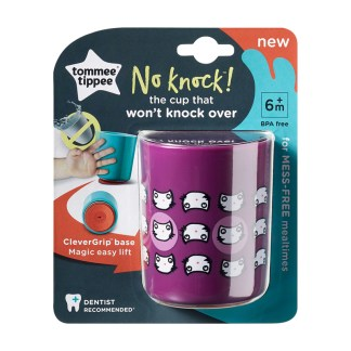 Tommee Tippee No Knock Cup 190ml: 6m+ (Cats)