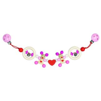 Pink Mouse Pram Chain