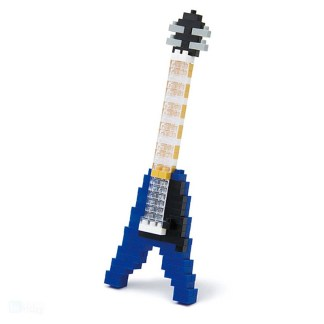 Electric Guitar (Blue) - Nanoblock NBC-095