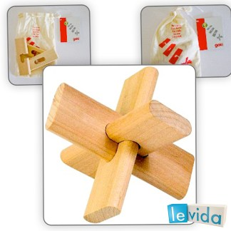 The Cross - Wooden Puzzle by Goki