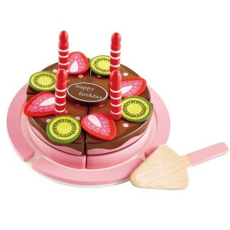 Hape Double Flavoured Birthday Cake - E3140 | LeVida Toys