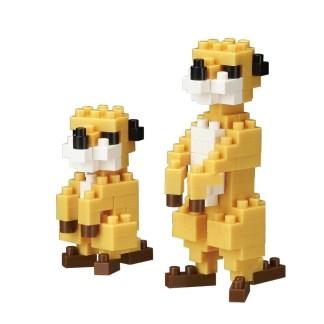 Nanblock Mini Collection Meerkat (nanoblock NBC-203)   LeVida Toys