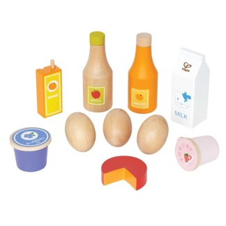 Hape Healthy Basics Wooden Play Food Set | LeVida Toys