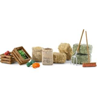 Schleich Feed set Farm Life figure - Schleich 42105   LeVida Toys