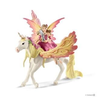Schleich Fairy Feya with Pagasus Unicorn Bayala figure - 70568   LeVida Toys