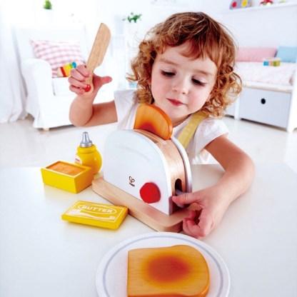 Hape Pop-up Toaster Set - Playfully Delicious | LeVida Toys