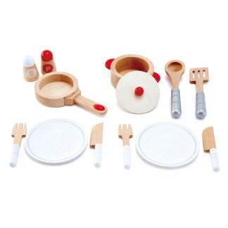 Hape Cook & Serve Set - Playfully Delicious | LeVida Toys