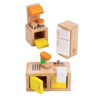 Hape Kitchen (E3453) Dolls House Set | LeVida Toys
