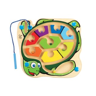 Hape Colorback Sea Turtle Wooden Maze Puzzle | LeVida Toys