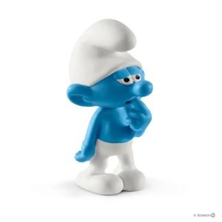 Schleich Clumsy Smurf The Smurfs figure - Schleich 20810 | LeVida Toys