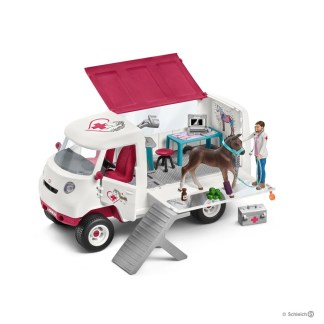 Mobile Vet with Hanoverian Foal (Schleich 42370)   LeVida Toys