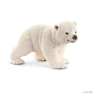 Polar Bear Cub, waliking (Schleich 14708)   LeVida Toys