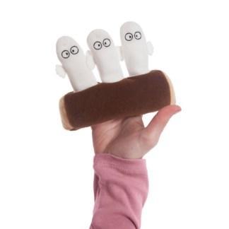 Moomins: Hattifatteners 5 Inch soft toy | LeVida Toys