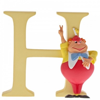"""H"" - Tweedle Dee - Disney Letter   LeVida Toys"