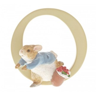 """O"" Peter Rabbit - Peter Rabbit Letter | LeVida Toys"