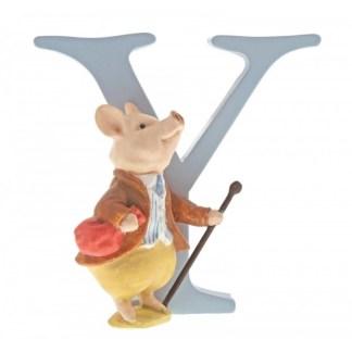 """Y"" Pigling Bland - Peter Rabbit Letter | LeVida Toys"