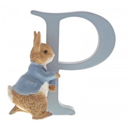 """P"" Running Peter Rabbit - Peter Rabbit Letter   LeVida Toys"