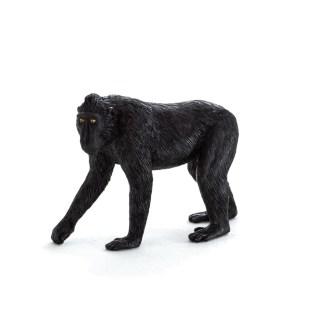 Black Crested Macaque (Animal Planet 387182) | LeVida Toys