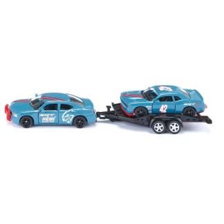 Dodge Charger with Dodge Challenger SRT Racing (Siku 2565)   LeVida Toys