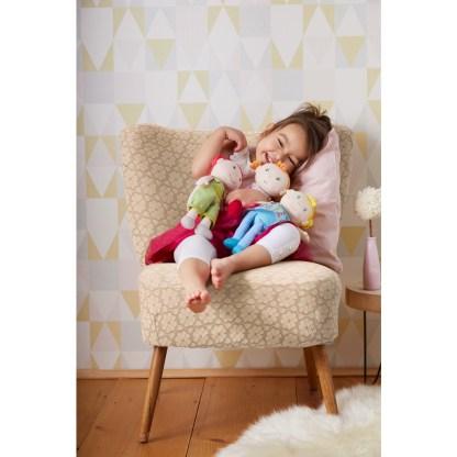 Fabric Edda Snug-Up Doll by Haba (303731) | LeVida Toys