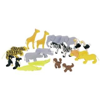 Goki African Animals Set (53942)   LeVida Toys