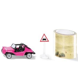 Siku Buggy with Tape (Siku 1604) Miniature Die Cast Model   LeVida Toys