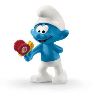 The Smurfs: Smurf with Butterfly (Schleich 20818) | LeVida Toys