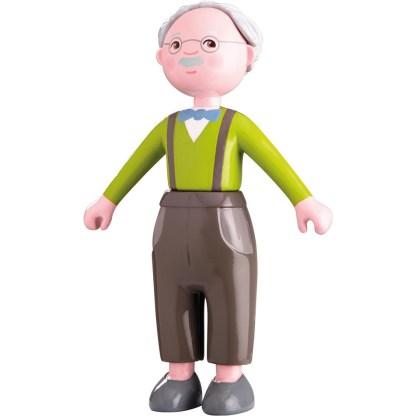 Haba Little Friends - Bendy Doll Grandpa Kurt   LeVida Toys