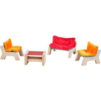 Haba Little Friends - Lounge Furnitures Set | LeVida Toys