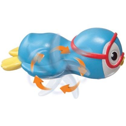 Munchkin Wind Up Swimming Penguin Bath Toy | LeVida Toys