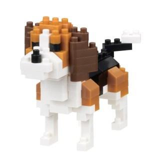 Nanoblock Mini Collection Beagle (NBC-253) | LeVida Toys