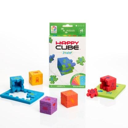 Smart Games Happy Cube Junior 2D + 3D Puzzle | LeVida Toys