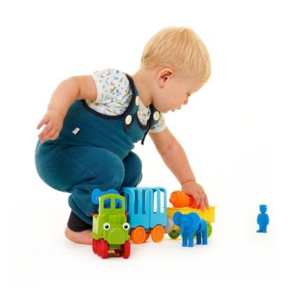 SmartMax My First Animal Train Magentic Play Set   LeVida Toys