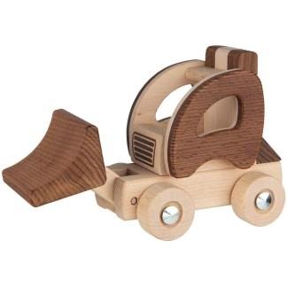 Goki Nature Wheel Loader (55890)   LeVida Toys