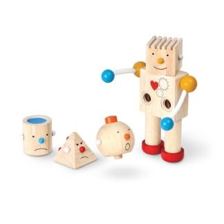 Plan Toys Build-A-Robot wooden toy | LeVida Toys