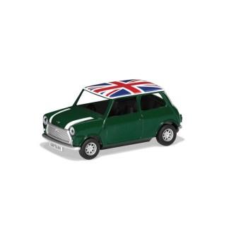 Corgi Best of British Classic Mini (Green) model   LeVida Toys