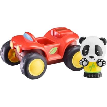 Timber Tots Quad ATV and panda figure | LeVida Toys