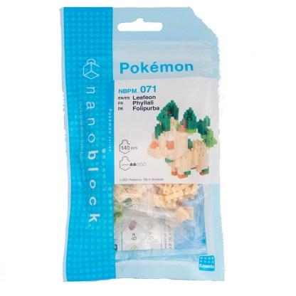 Leafeon - Nanoblock Pokemon (NBPM-071) | LeVida Toys